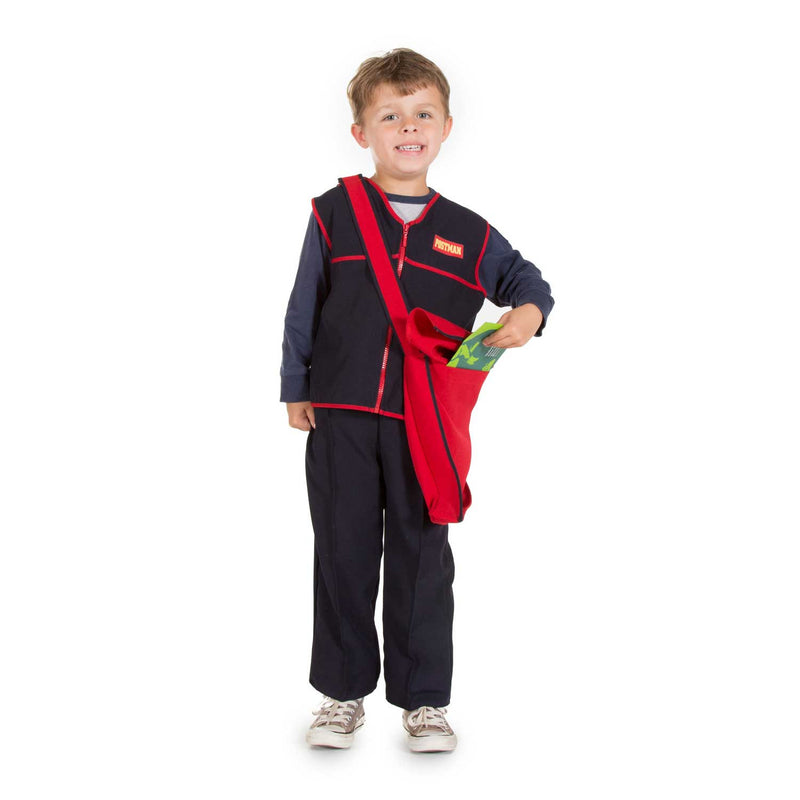 Children's Postal Worker Costume- Children's Costume-Pretend to Bee