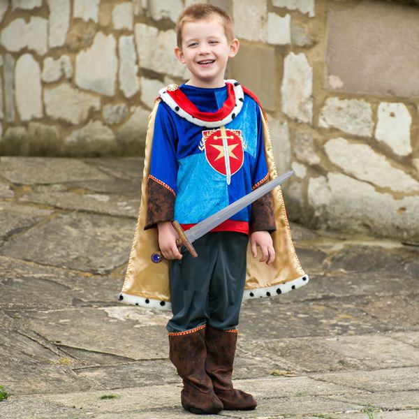 Children's Medieval Prince Dress Up , Kids Prince Costume, Children's Costume - Time to Dress Up, Ayshea Elliott - 1