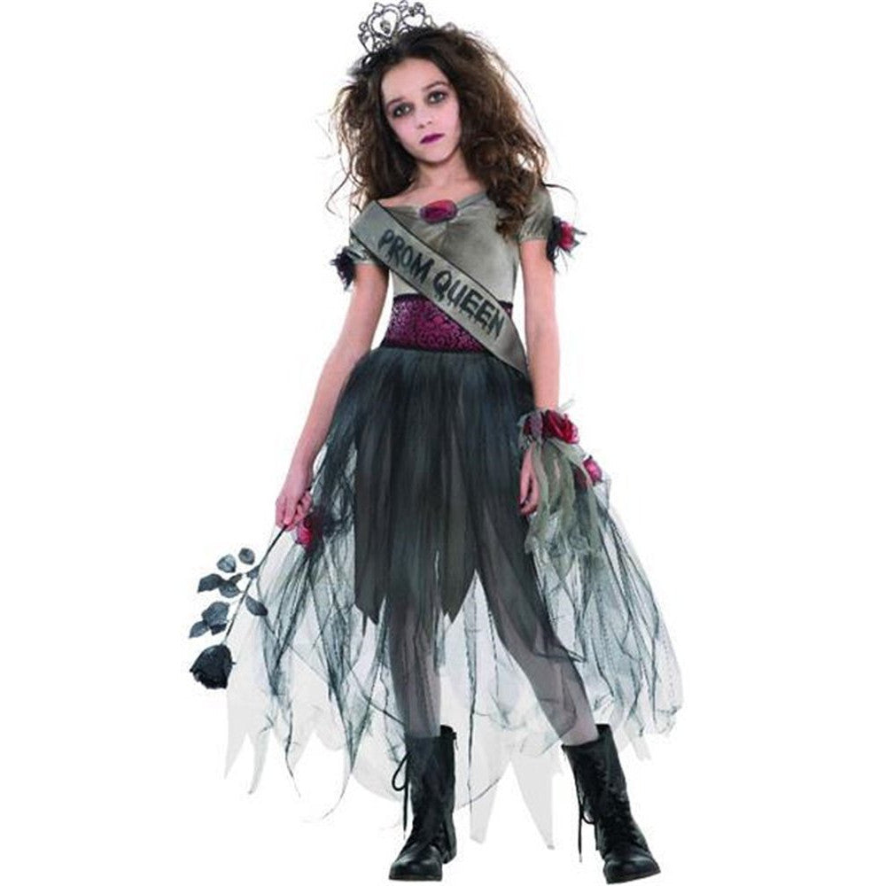 Prombie Queen -Zombie Costume -Children's Halloween Costume