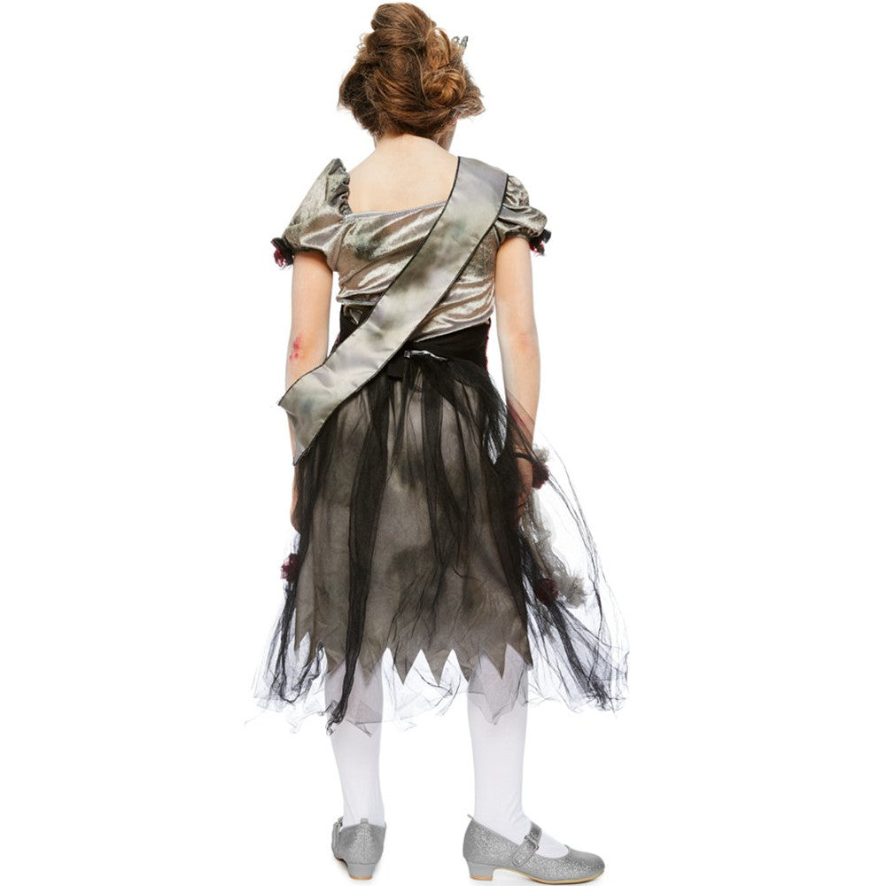 Prombie Queen -Zombie Costume -Children's Halloween Costume -1