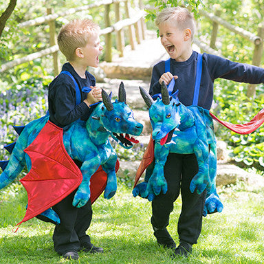 Children's Ride On Dragon Dressing Up