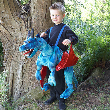 Ride On Dragon Costume , Ride on Costume -Children's Costume - Time to Dress Up, Ayshea Elliott - 2