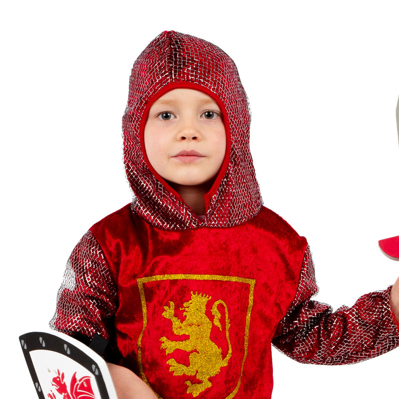Crusader Knight with sword and shield -Kids Knight Costume -Time to Dress up