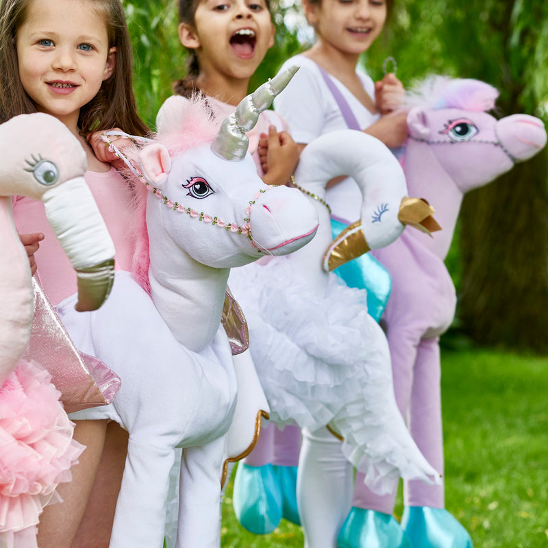 Children's Ride On Unicorn Dressing Up , Ride on Costume - Time to Dress Up