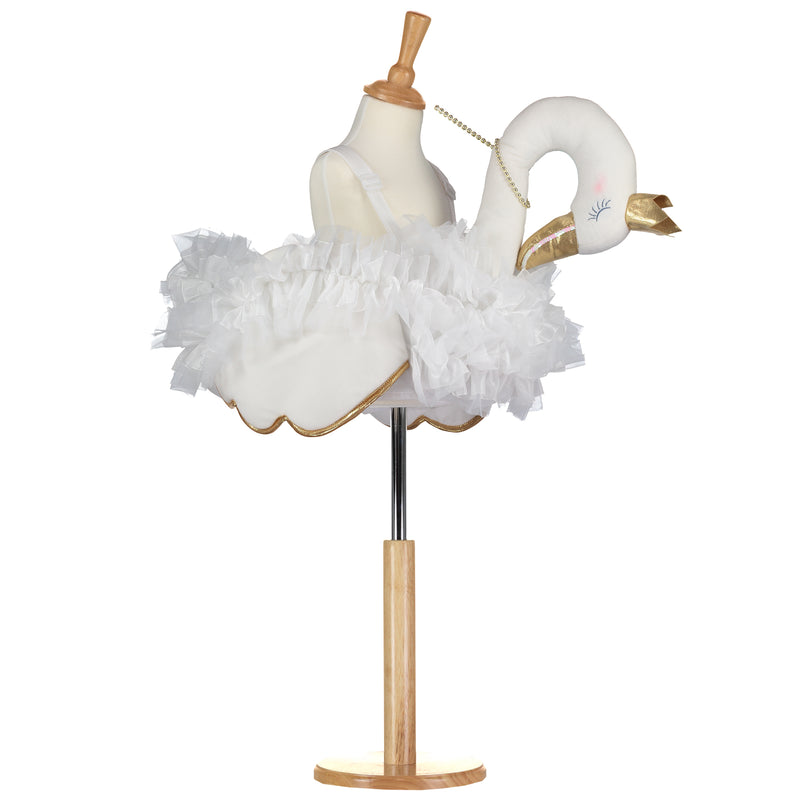 Ride on Glide on Swan Childrens Dress Up Costume Outfit