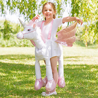 Ride On Unicorn Costume , Children's Costume - Time to Dress Up -1
