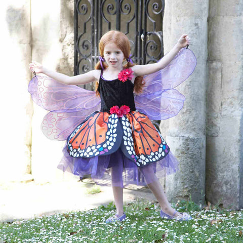 Children's Red Admiral Butterfly Dress Up