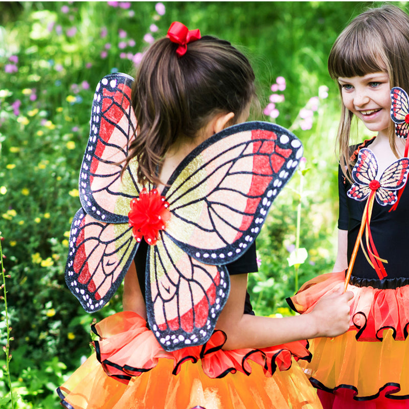 Red Admiral Butterfly Fairy Set