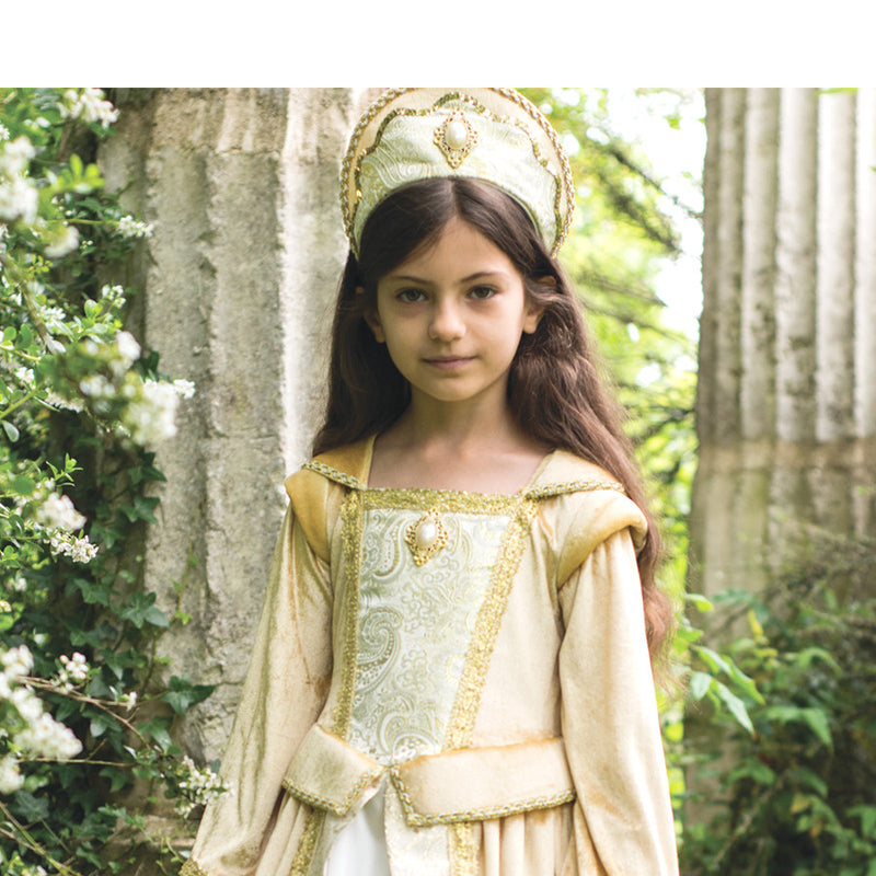 Children's Golden Regal Countess Dress , Children's Costume - Travis Designs