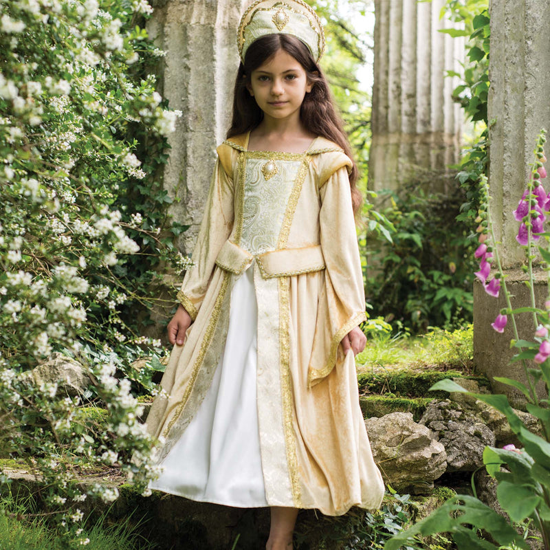 Children's Golden Regal Countess Dress , Children's Costume - Travis Designs, Ayshea Elliott