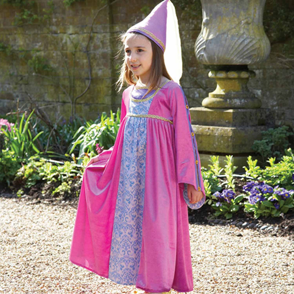 Renaissance Princess with Hat Dress Up , Children's Costume - Travis Designs, Ayshea Elliott  - 2