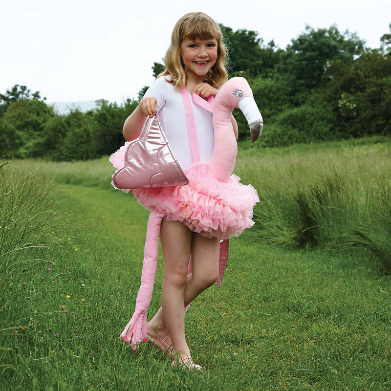 Children's Ride On Flamingo Costume , Ride on Costume - Time to Dress Up, Ayshea Elliott