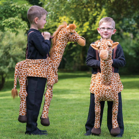 Children's Ride On Giraffe Costume