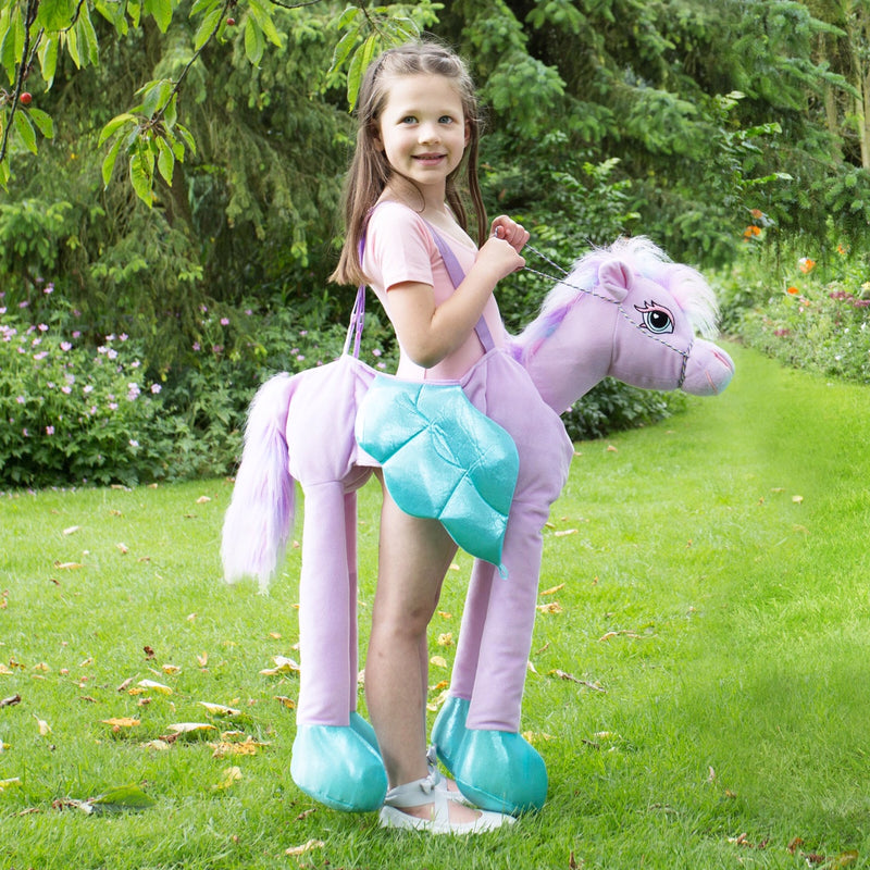 Ride on FairyTale Pony- Horse - Childrens Costume -Personalised Gift -Time to Dress Up -3