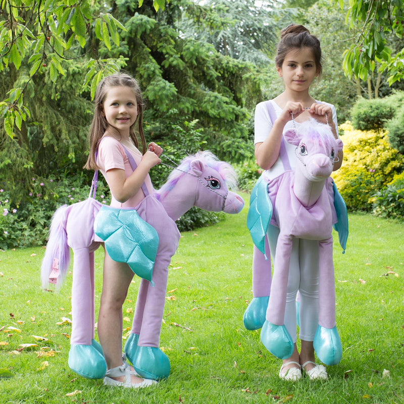 Ride on FairyTale Pony- Horse - Childrens Costume -Personalised Gift -Time to Dress Up -4