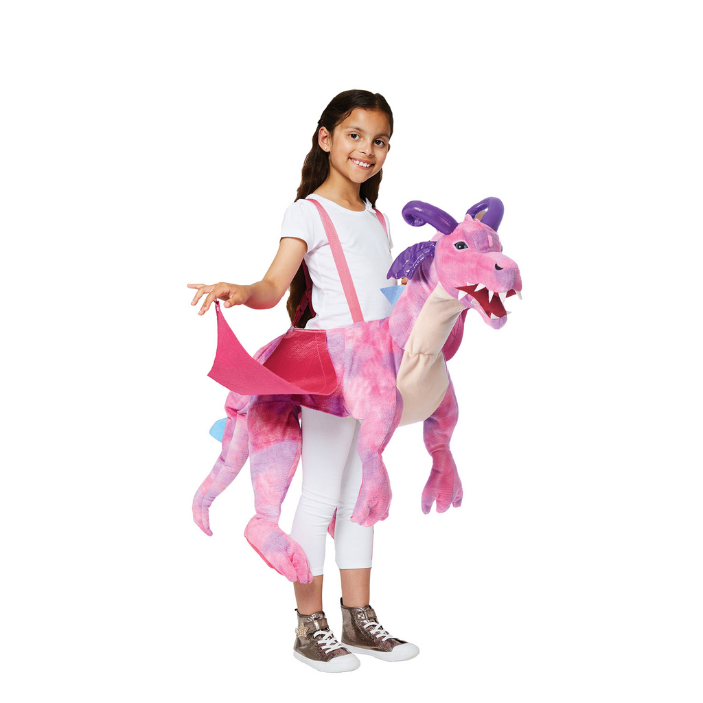 Ride on Pink Dragon - Ride on Dragon - Children's Costume - Time to Dress Up