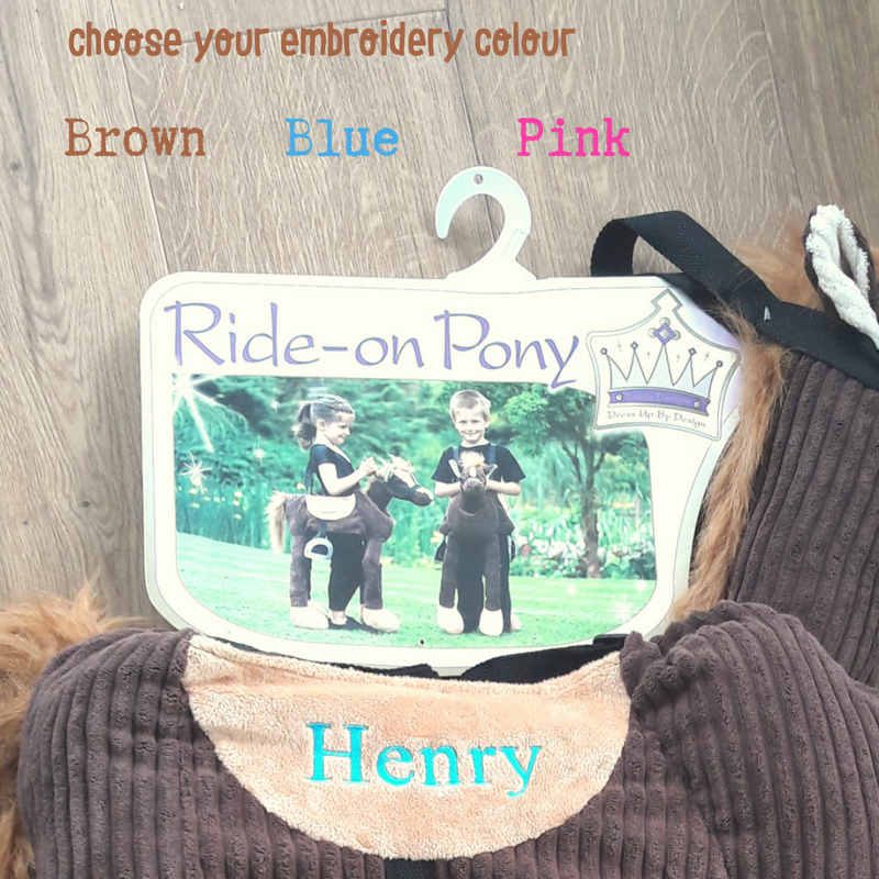 Children's Ride On Pony - Personalised