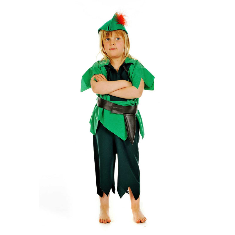 Robin Hood Costume- Children's Fancy Dress- Pretend to Bee