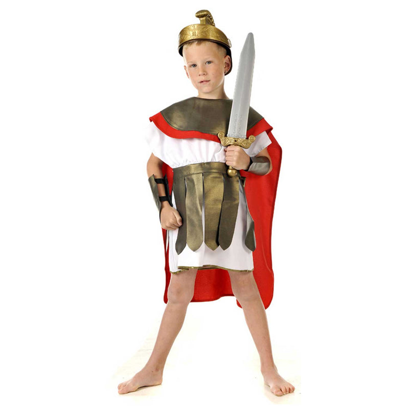 Children's Roman Gladiator Costume , Children's Costume - Pretend to Bee, Ayshea Elliott - 1