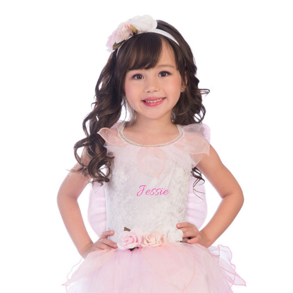 Personalised Rosebud Fairy Fancy Dress