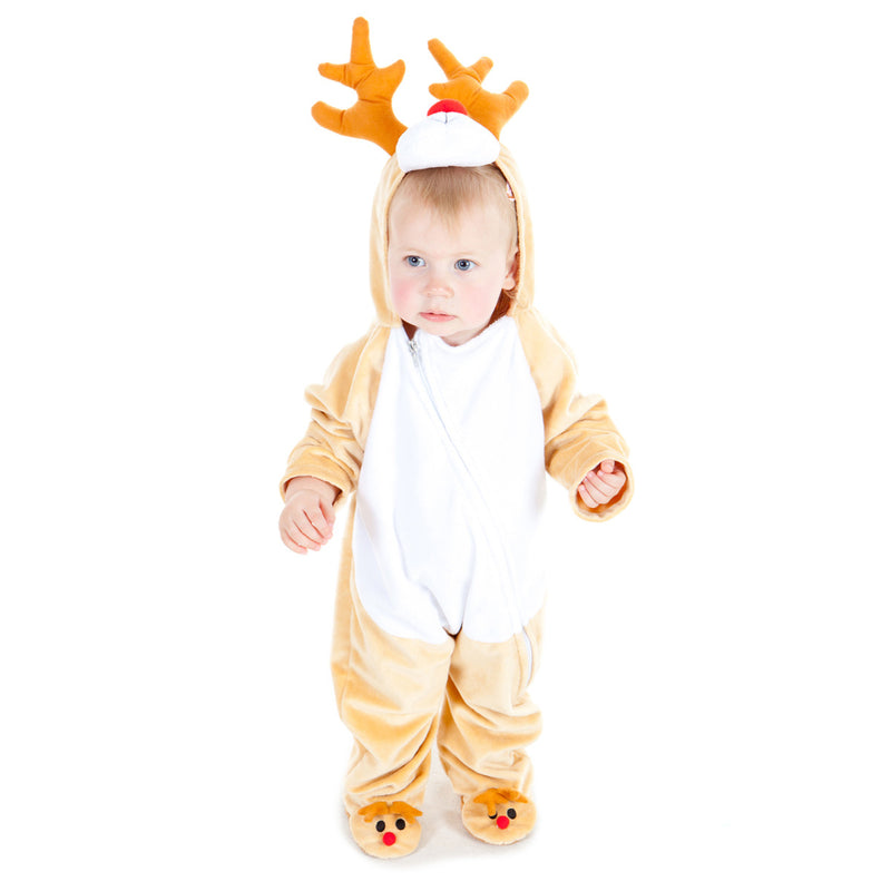 Rudolph Reindeer Fancy Dress Costume , Baby Costume - Baby Costume, Ayshea Elliott - 1