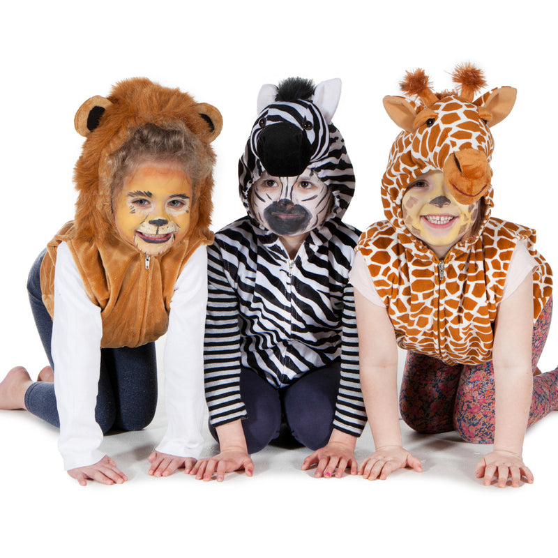 Chlidrens Safari Fancy Dress Tops- Time to Dress Up