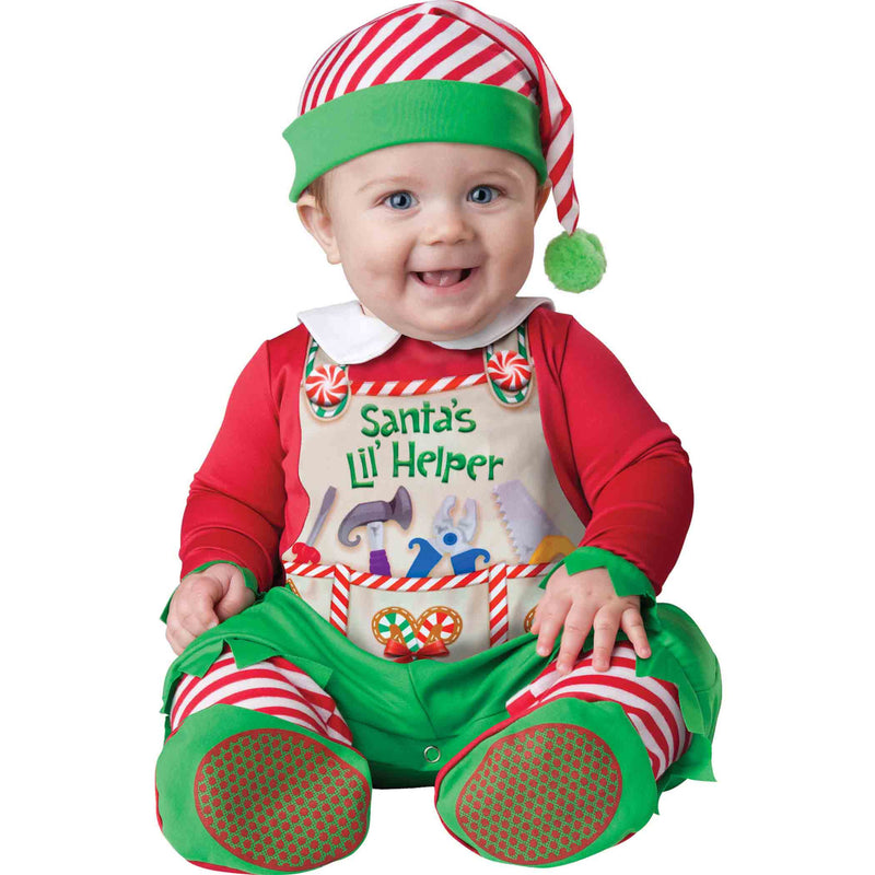 Santa's Elf Baby Fancy Dress Costume , Baby Costume - In Character, Ayshea Elliott  - 4