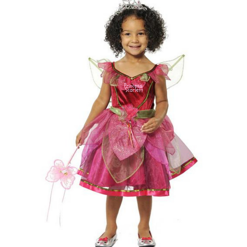 Scarletta Fairy Dress- Personalised