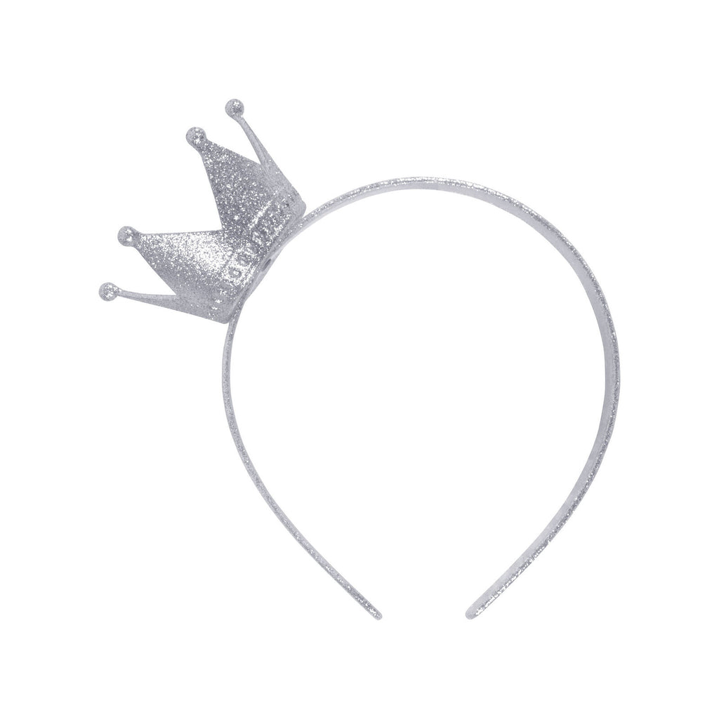 Princess Crown Headband- Silver