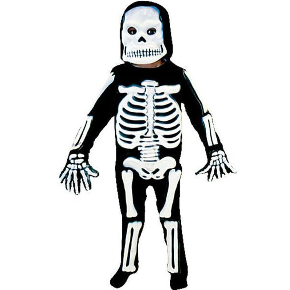 Children's 3D Skeleton Costume