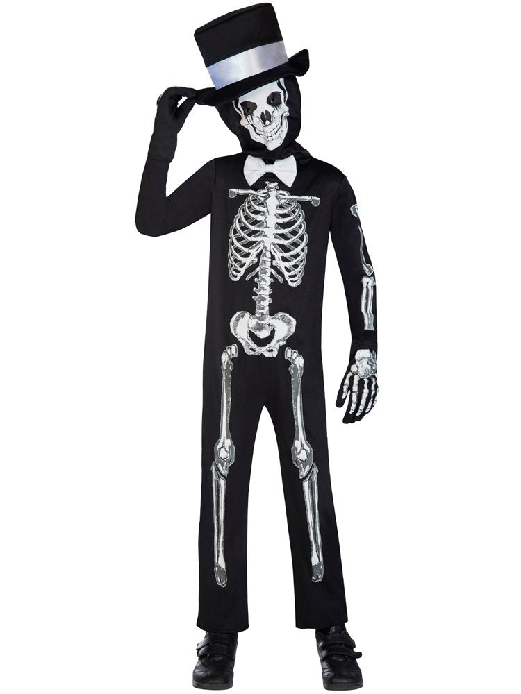 Children's Skeleton Bone Zombie Costume