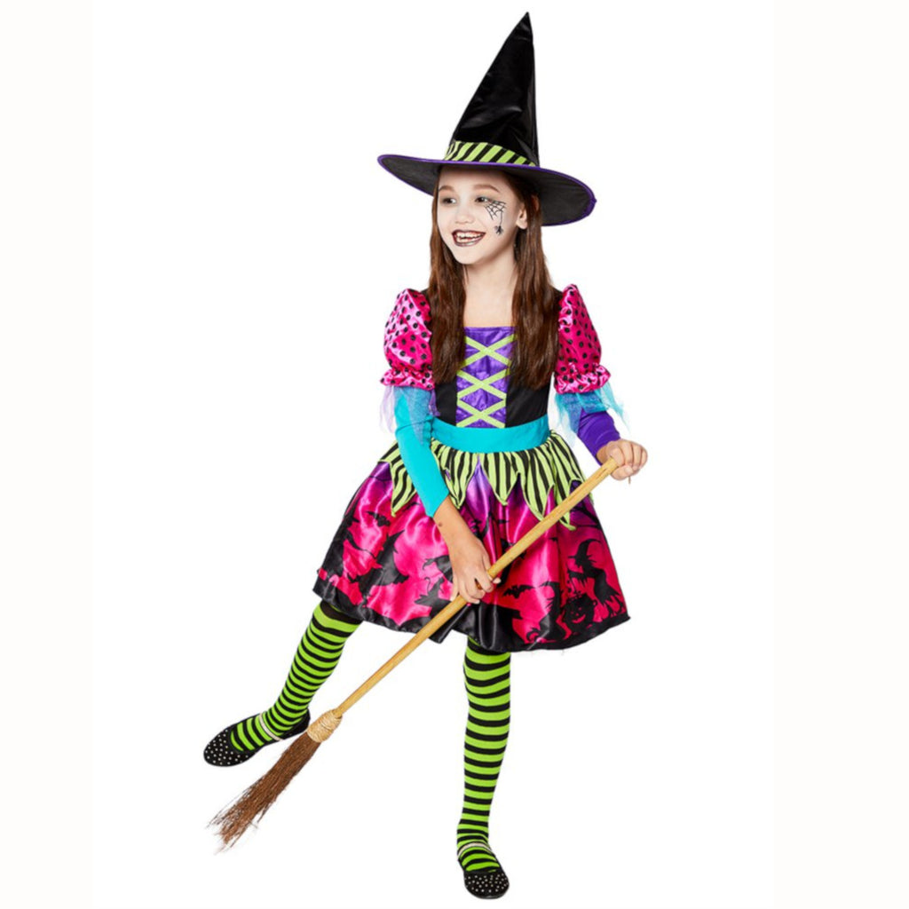 Spellbook Sweetie Witch Costume