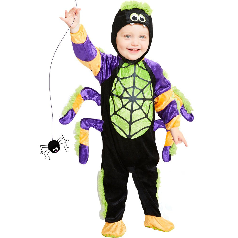 Little Spooky Spider Costume