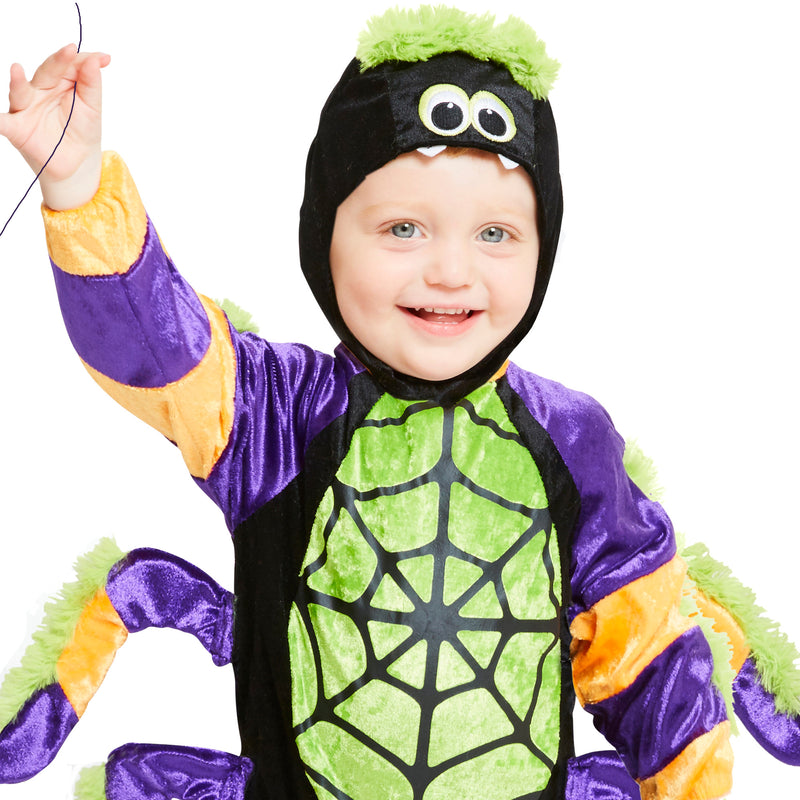 Little Spooky Spider Costume - Toddler