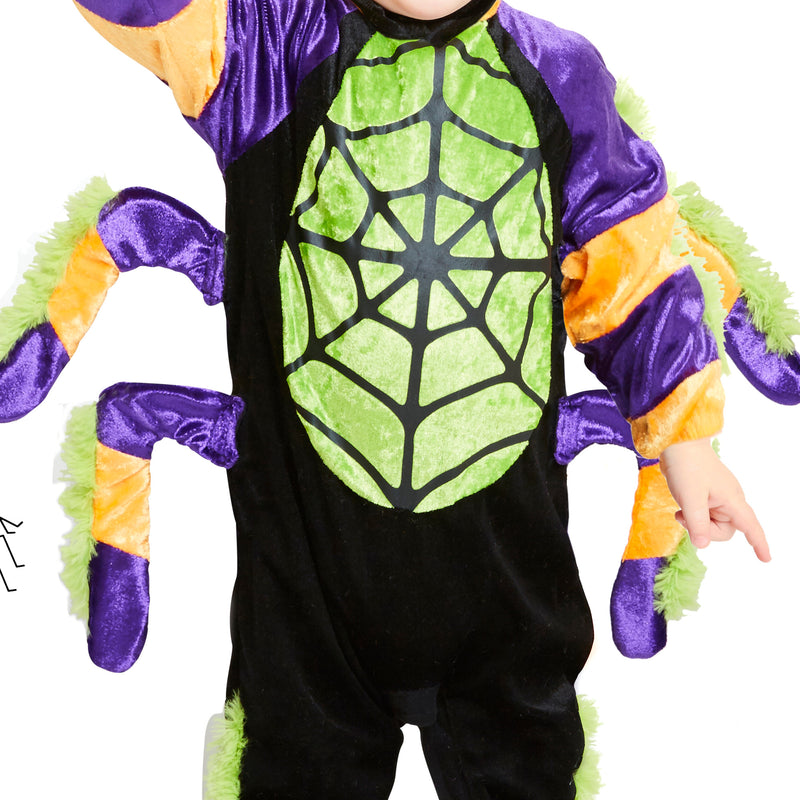 Little Spooky Spider Costume - Toddler 2-3 years