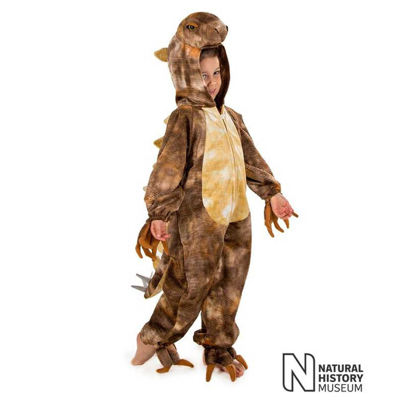 Official Natural History Museum Stegosaurus Costume , Children's Costume - National History Museum, Ayshea Elliott  - 5