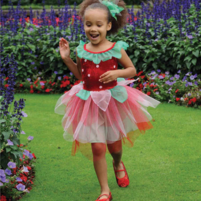 Children's Strawberry Fairy Dress Up , Fairy Dress, Children's Costume - Time to Dress Up, Ayshea Elliott