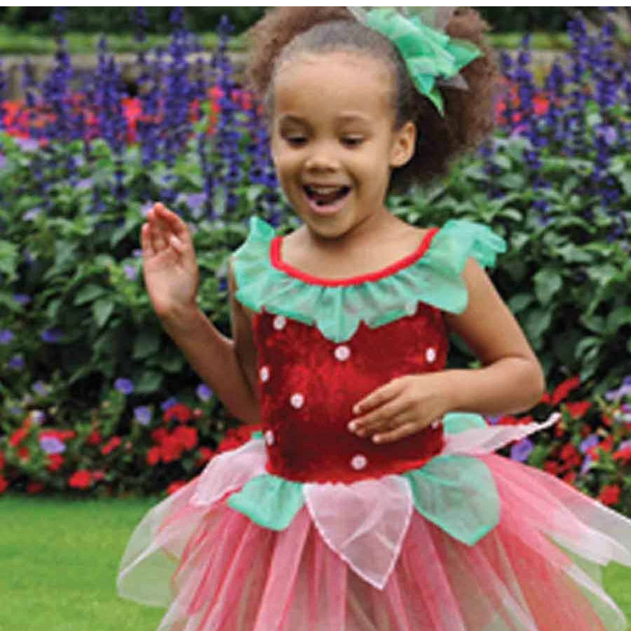 Children's Strawberry Fairy Dress Up ,Fairy Dress,  Children's Costume - Time to Dress Up