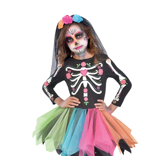 ba85aaf12c5 Day of the Dead Sugar Skull Dress – Time to Dress Up