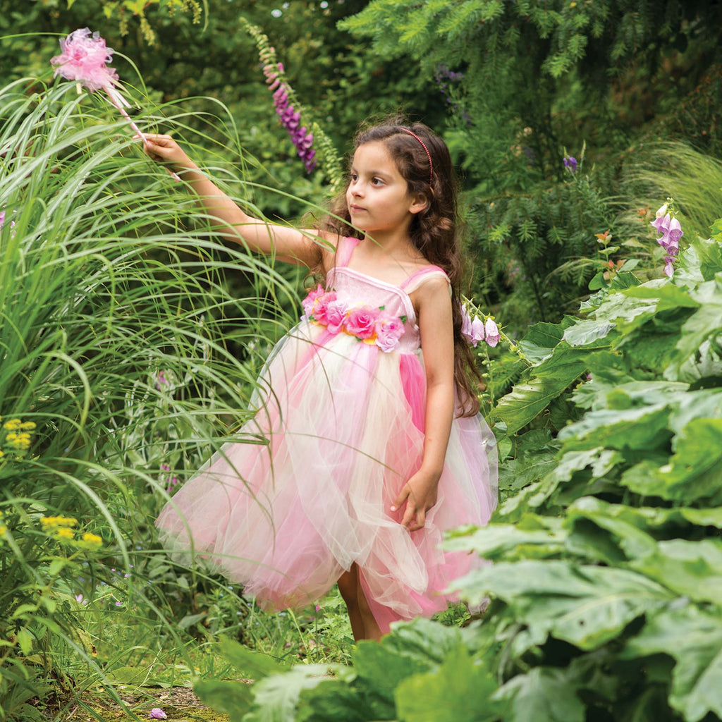Children's Summer Fairy Dress With Wand , Fairy Dress, Children's Costume - Travis Designs, Ayshea Elliott - 1