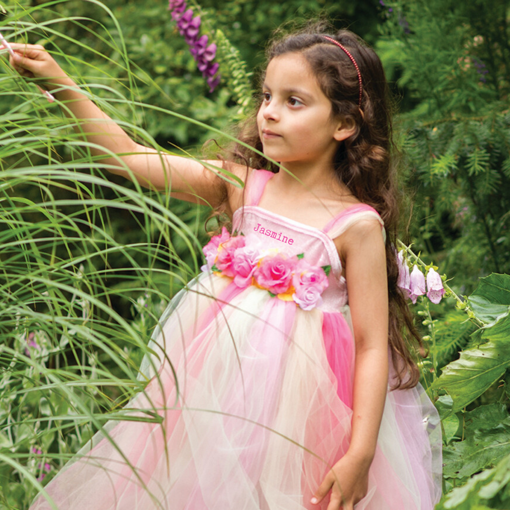 Summer Fairy Dress with Wand-Personalised