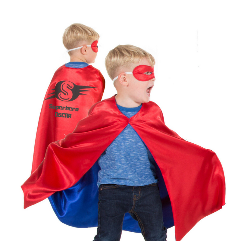 Children's Superhero Cape - personalised