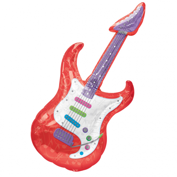 Guitar Supershape Foil Balloon