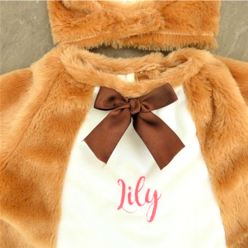 Teddy Bear Baby Fancy Dress Costume-Personalised