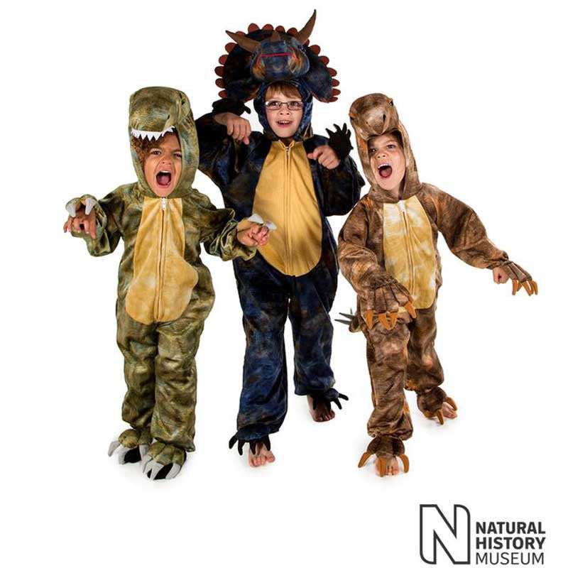 Official Natural History Museum Triceratops Costume , Children's Costume - National History Museum, Ayshea Elliott  - 4