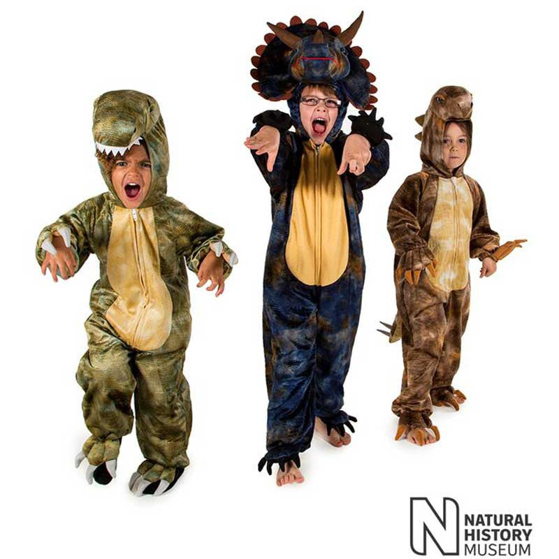 Official Natural History Museum Tyrannosaurus Rex Costume , Children's Costume - National History Museum, Ayshea Elliott  - 5