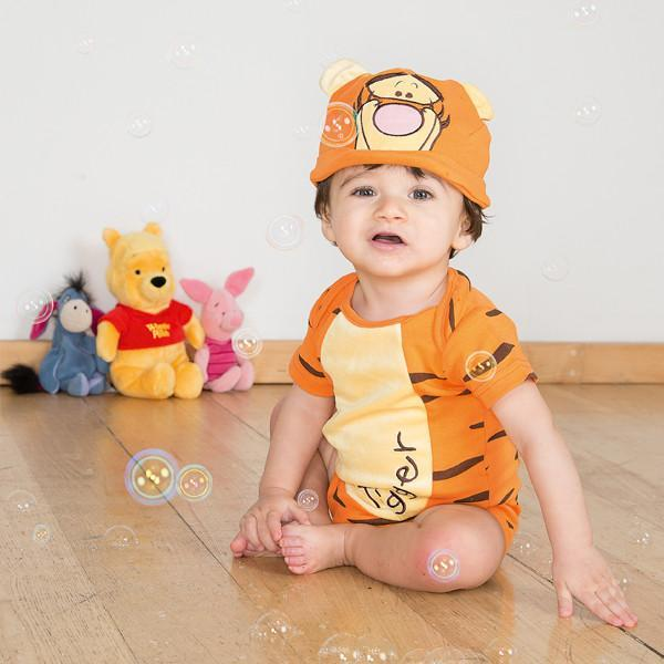 Tigger Baby Bodysuit with Hat - Official Disney , Baby Costume - Disney Baby, Ayshea Elliott