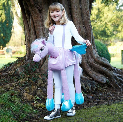 Children's Ride On Fairytale Pony Dressing Up