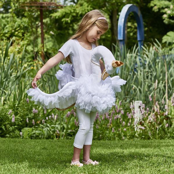 Children's Pink Flower Fairy Dress- Personalised