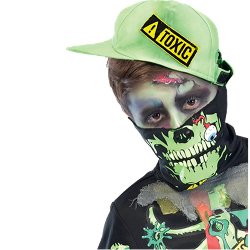 Children's Glow in The Dark Toxic Zombie Costume